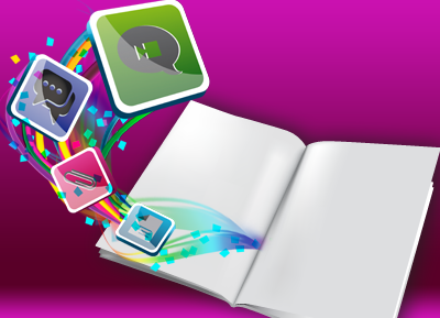 magic book, libro de sensor para eventos